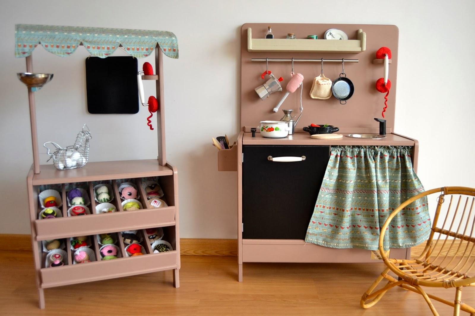 Lou retrohousewife juguetes vintage hechos a mano for Cocina juguete segunda mano