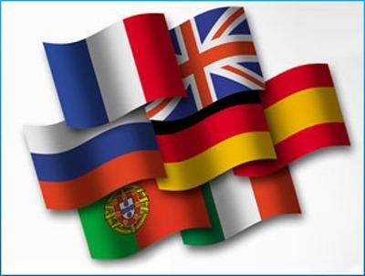 Diccionarios español-inglés, español-francés