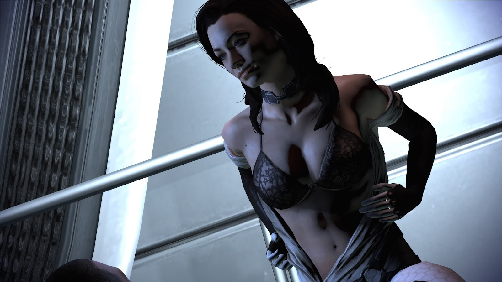 Naked miranda from mass effect hentai tube
