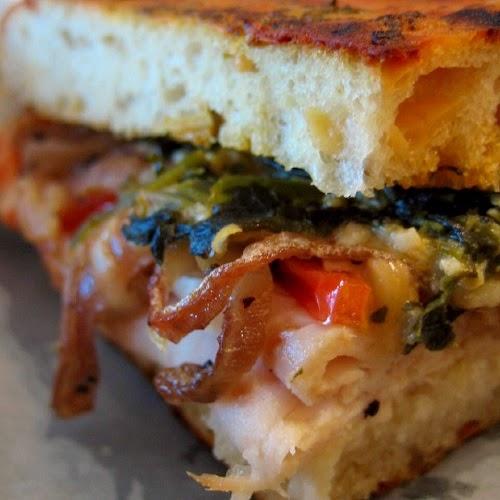 http://secretcopycatrestaurantrecipes.com/panera-bread-roasted-turkey-artichoke-panini-recipe/