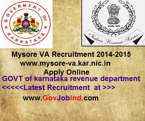 Office of the Deputy Commissioner, Mysore District, Mysore Phone: 082 1-242 4079, 2422302 Fax: 082 1-242901 2 Mysore VA Recruitment <del>2017/2018</del>-2015 www.mysore-va.kar.nic.in Apply Online&#8221; width=&#8221;320&#8243; height=&#8221;267&#8243; border=&#8221;0&#8243; /></a></td> </tr> <tr> <td class=