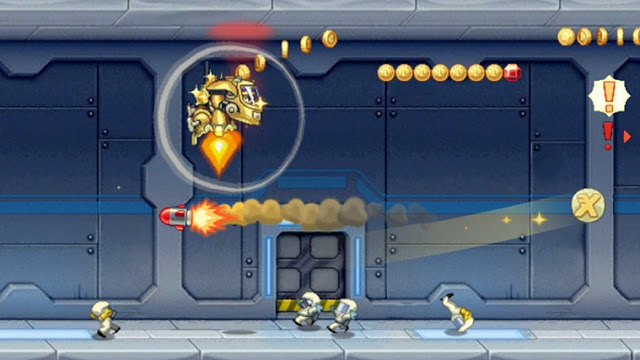 Jetpack joyride for Android iOS addicting offline game