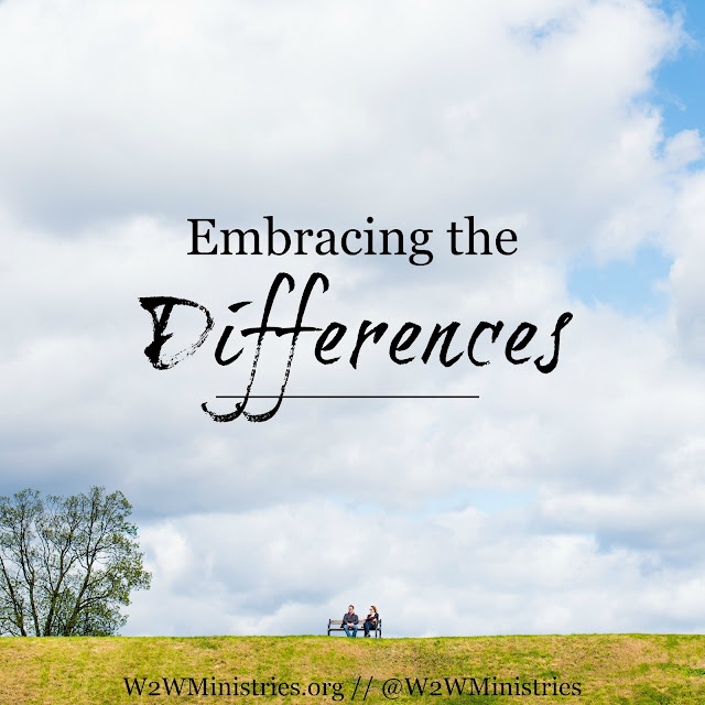 Embracing the differences you have with your mate. #marriage