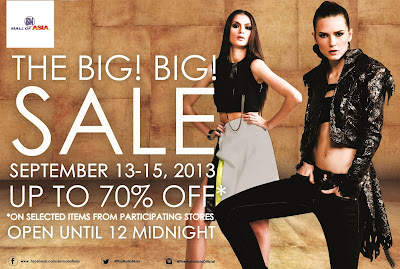 The Big Big Sale at SM Mall of Asia