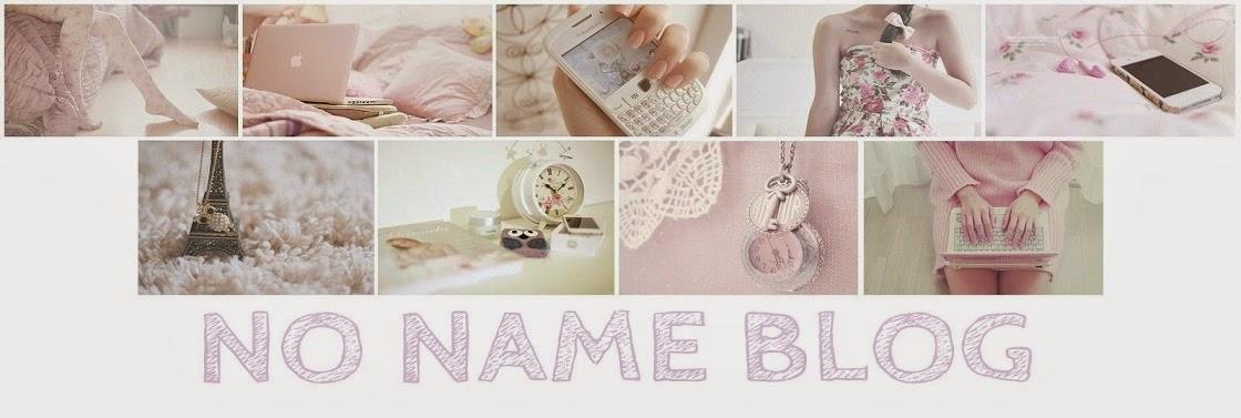 No Name Blog