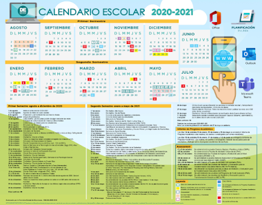 CALENDARIO 2020 - 2021