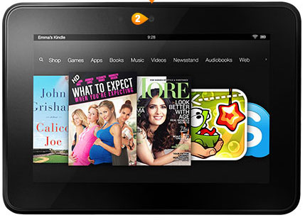 "Kindle Fire HD World's most advanced 7"" tablet"