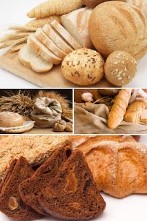 Хлеб на обоях для рабочего стола