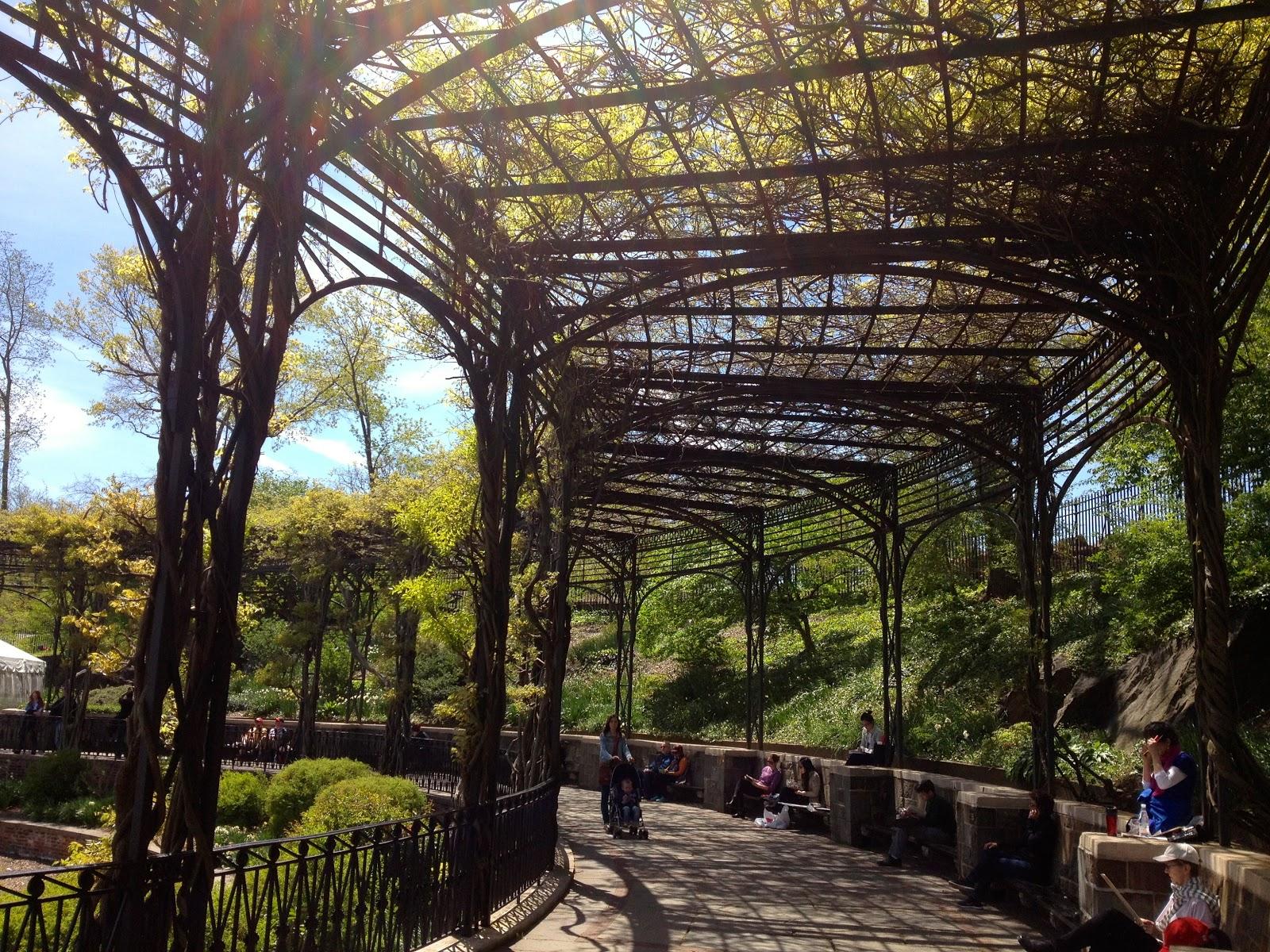 Don 39 T Mis It Central Park Conservatory Garden