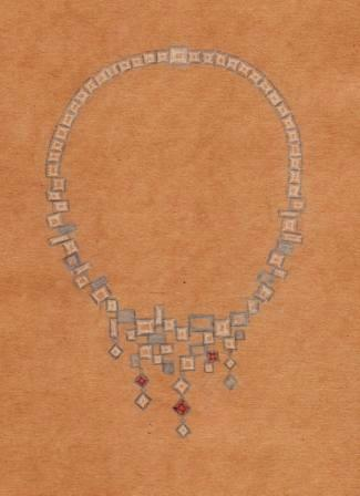 Bart joyas bead Celtica folklore pelo perla remolque nodo joyas de plata