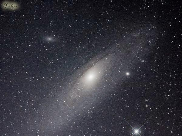 Cantiknya Galaksi Andromeda Hasil Jepretan Observatorium Bosscha
