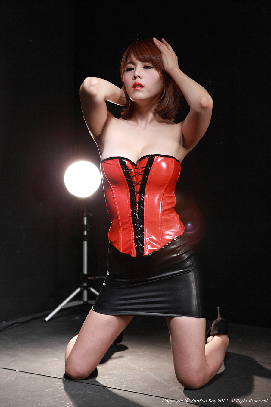 from Ronald jung girls in latex