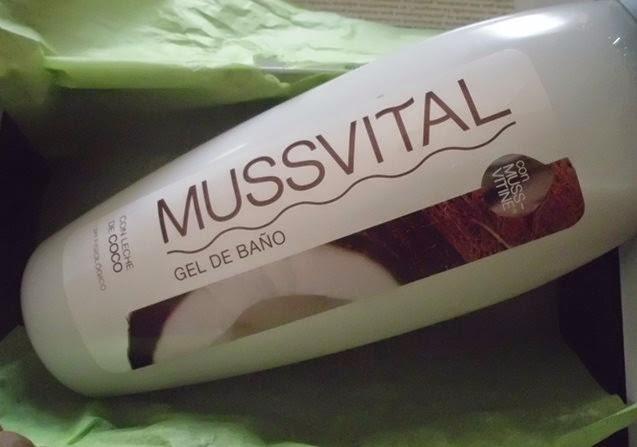 Gel de baño Musvital
