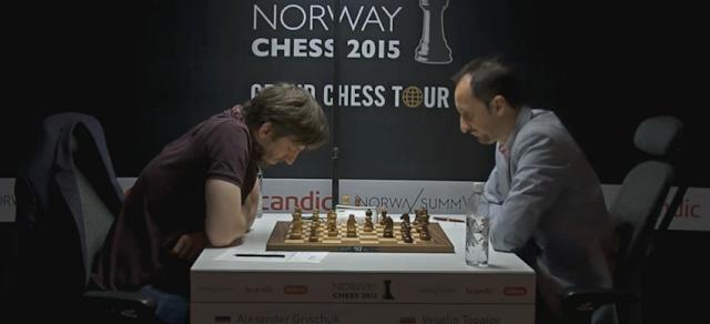 Norway Chess 2015. Alexander Grischuk - Veselin Topalov