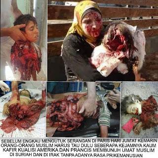 bantu share, umat islam dibantai di suriah, media islamphobia bungkam
