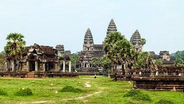 Angkor Wat Frontside
