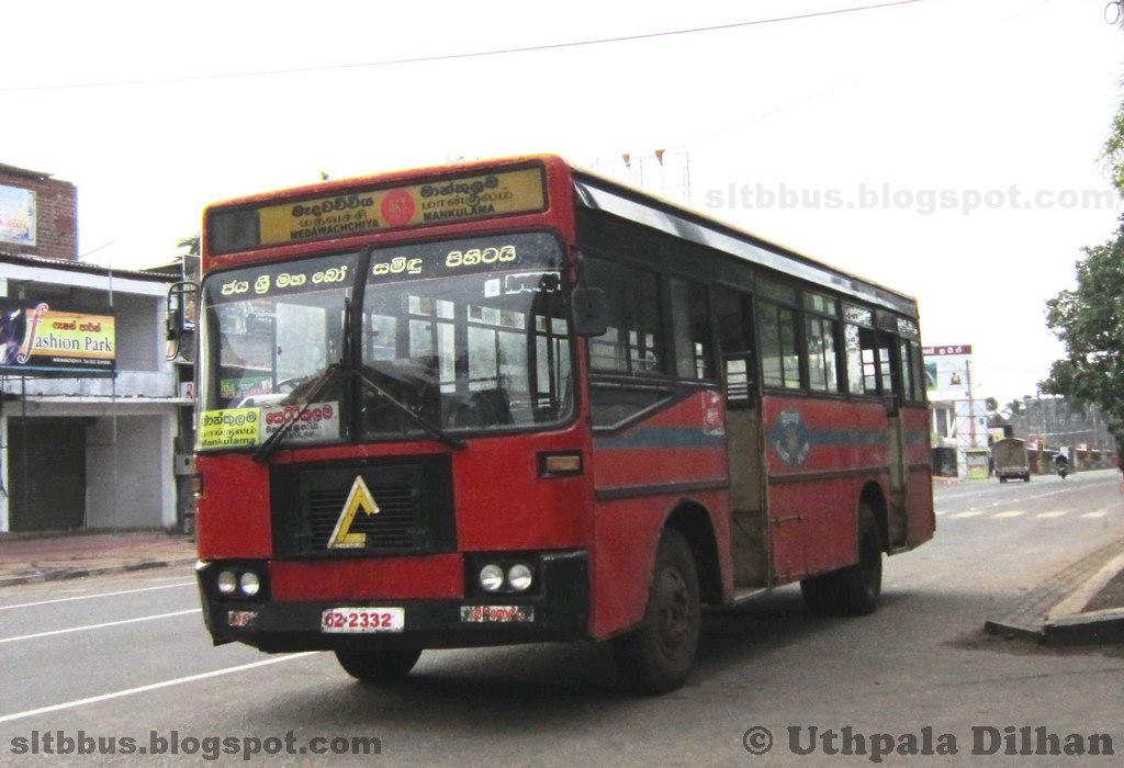 Medawachchiya Sri Lanka  city photo : ... බස්: Dimo TATA 1313 bus from SLTB Medawachchiya sub depot