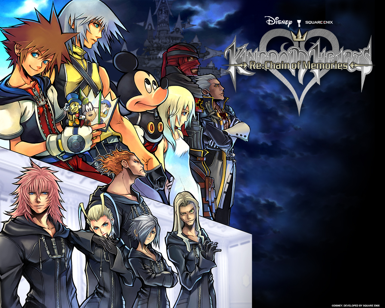 kingdom Heart HD & Widescreen Wallpaper 0.521536748566895