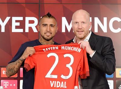 Vidal bergabung ke bayern munich