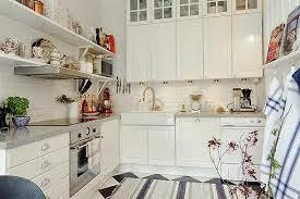 And White Kitchen Decorating