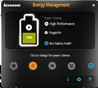Lenovo Power Management