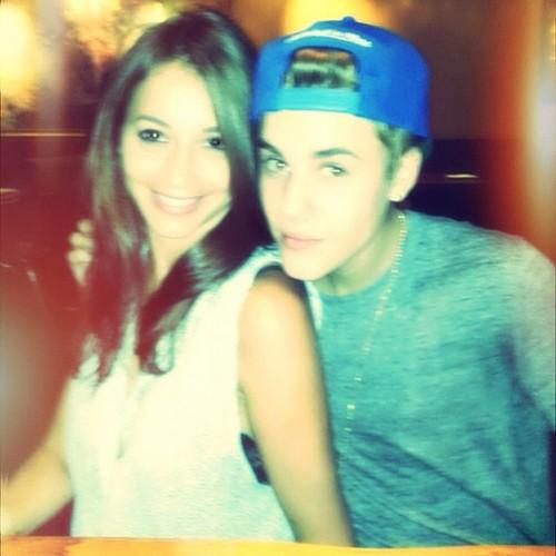... Brasil: FOTO: Carin Morris posta foto com Justin Bieber em Instagram