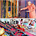 Indian PM narendra modi worshipping the weapons used in Gujrat Massacre.