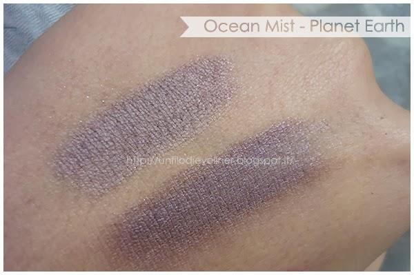 ocean mist planet earth eyeshadow swatch