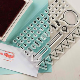 Stampin'UP!'s new Photopolymer Clear Stamps Designer Typeset