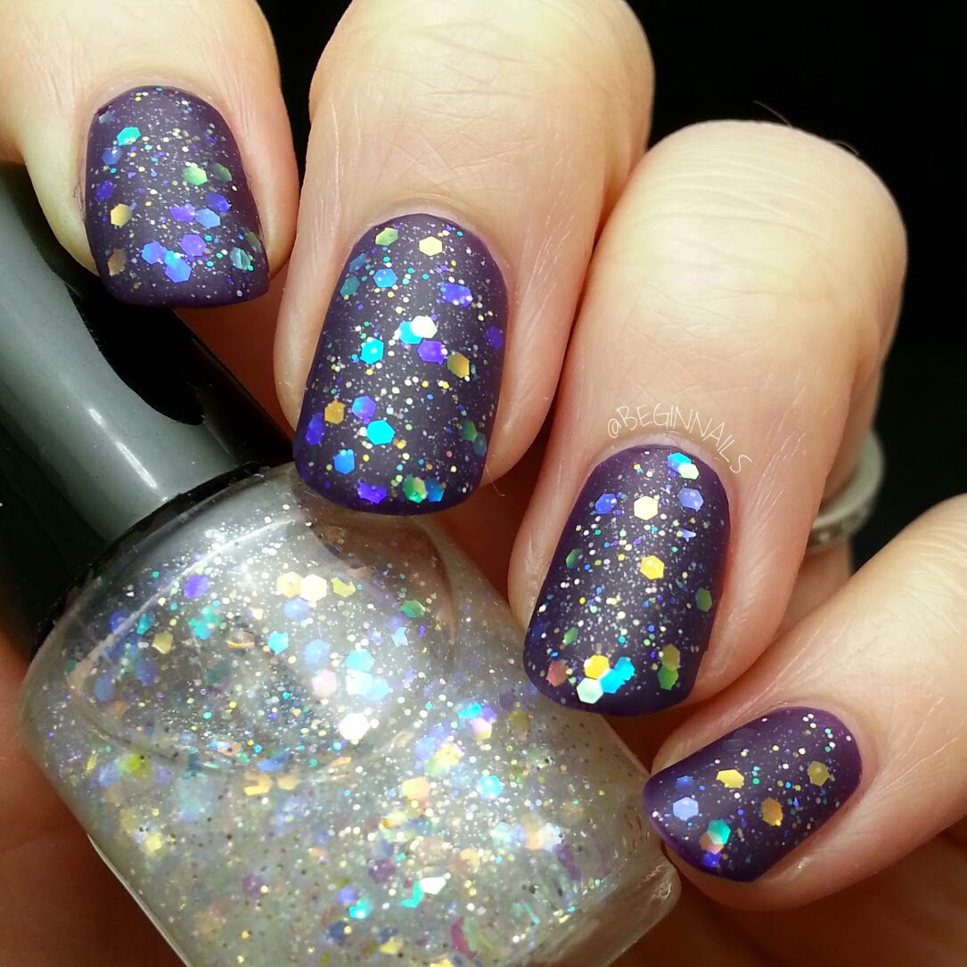 Let\'s Begin Nails: Dream Polish 3 LE Holiday Glitter Toppers Swatch ...