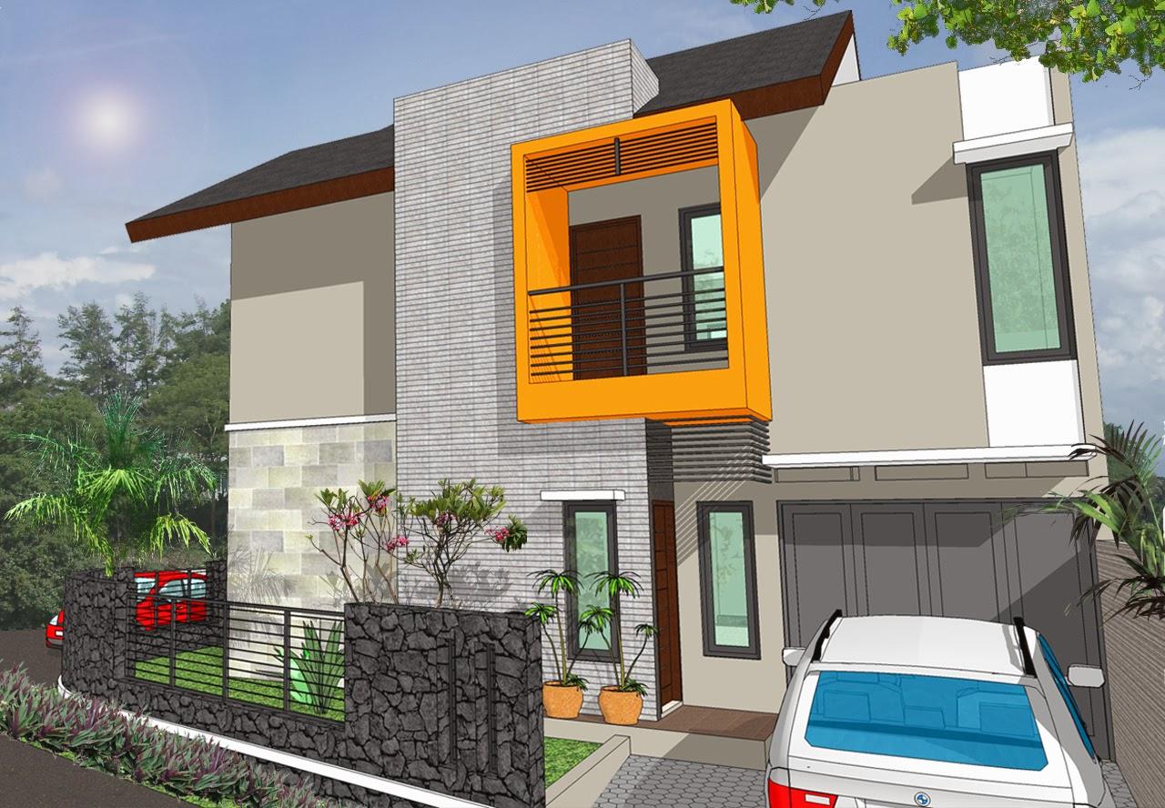contoh desain rumah sederhana minimalis desain denah