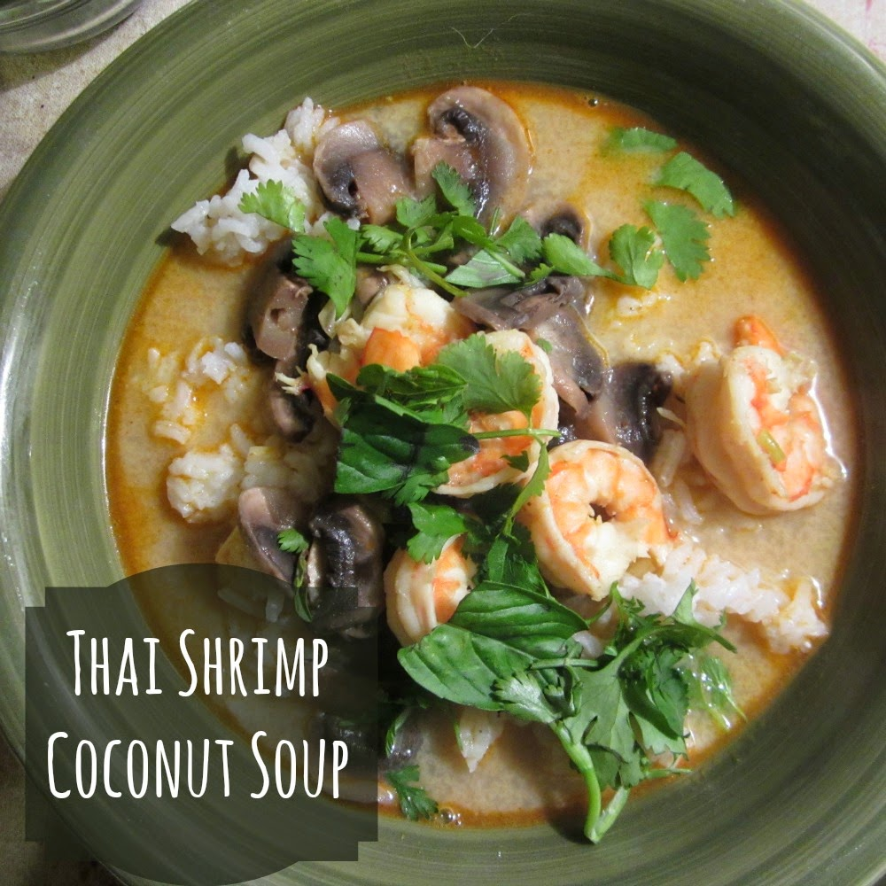 Reviews, Chews & How-Tos: Thai Coconut Shrimp Soup (Meal Plan)