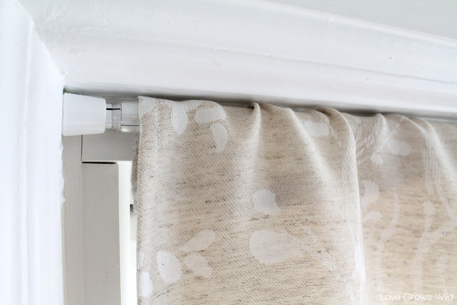 make a faux roman shade by diy romanshade curtain
