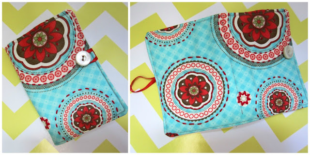 The Sewing Room Swap- Needle Book