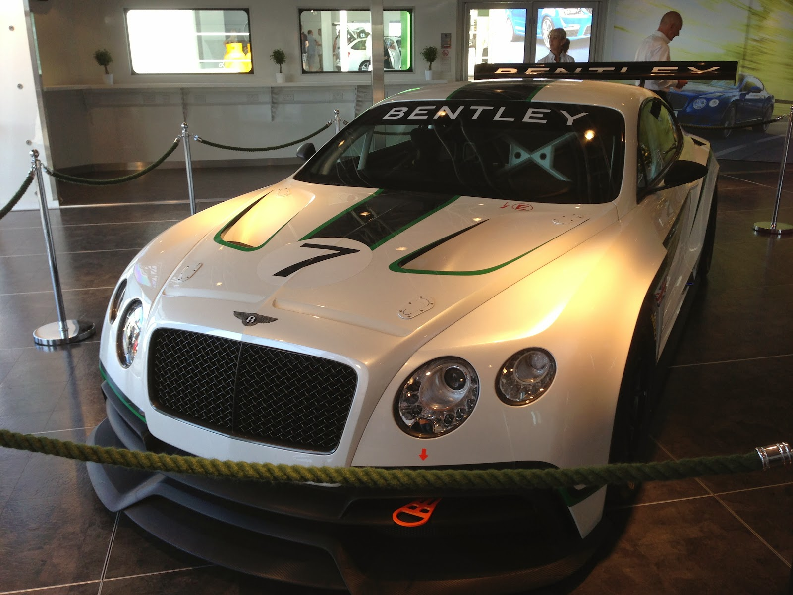Bentley Continental GT3 at Goodwood Festival of Speed