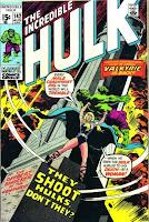 Incredible Hulk #142 comic cover