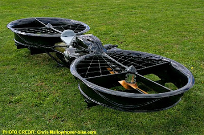 Hoverbike Built By Chris Malloy