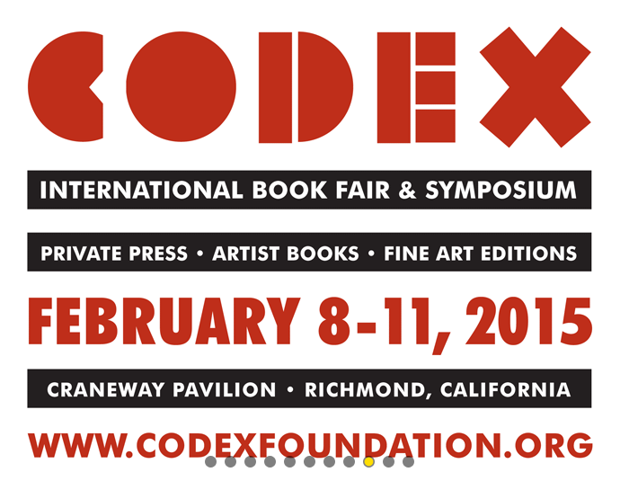 http://www.codexfoundation.org/book-fair-and-symposium/2015-book-fair-and-symposium