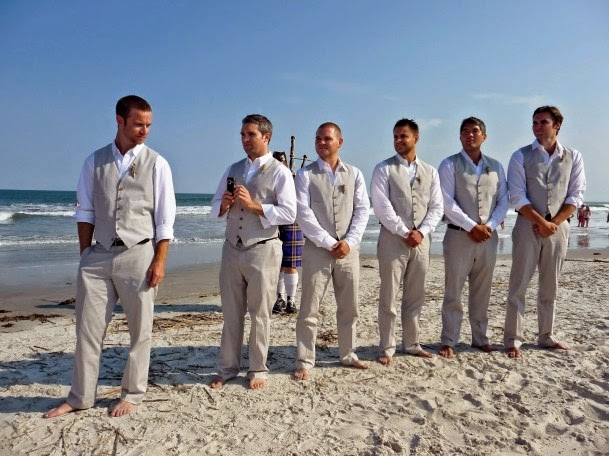 Wedding Wednesday - Let\'s hear it for the boys!