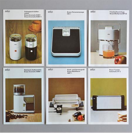Design Craic: Braun Product Catalogue, Circa 1970