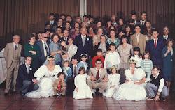 Casamento de Martha Sandoval em 26 de julho de 1986
