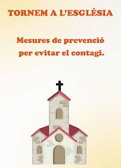 VÍDEO DE LES MESURES DE PREVENCIÓ PER EVITAR EL CONTAGI A LES ESGLÉSIES