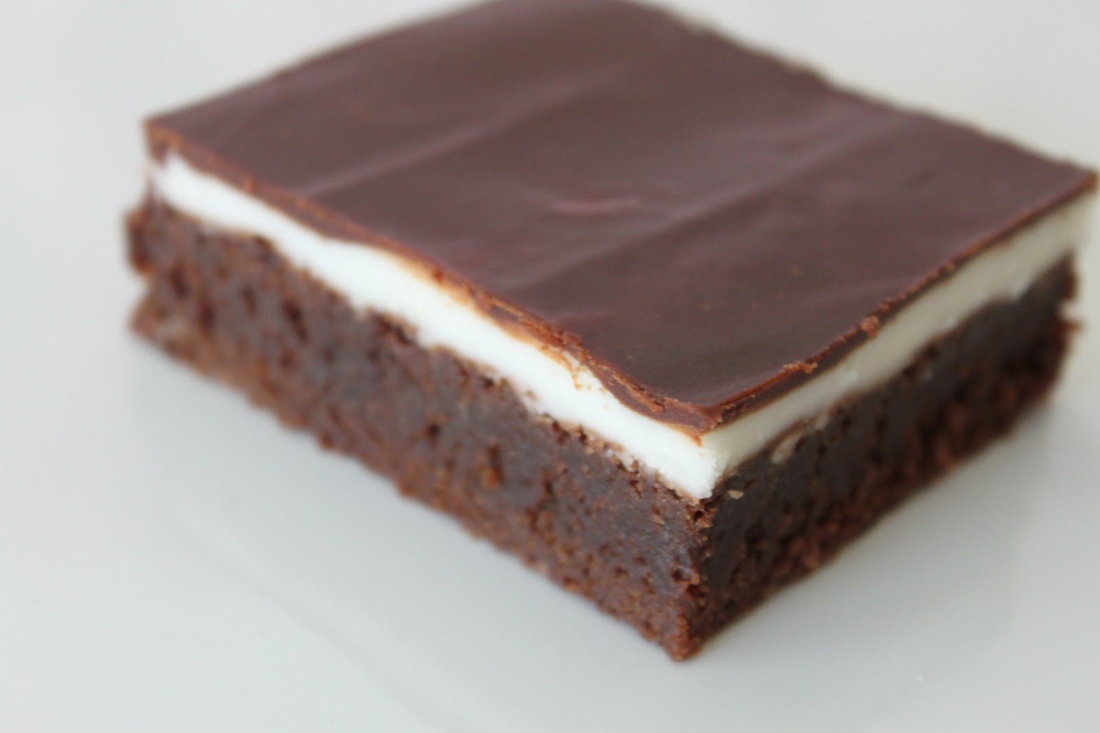 White And Dark Hearted Brownies Recipe — Dishmaps