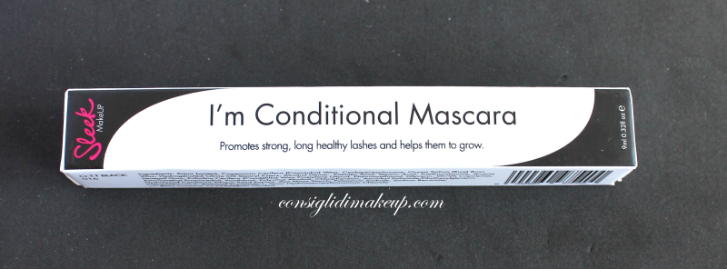 Review: Mascara  I'm Conditional - Sleek Makeup