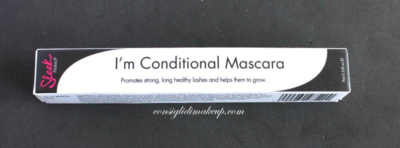 Review: Mascara  I'm Conditional - Sleek Makeup