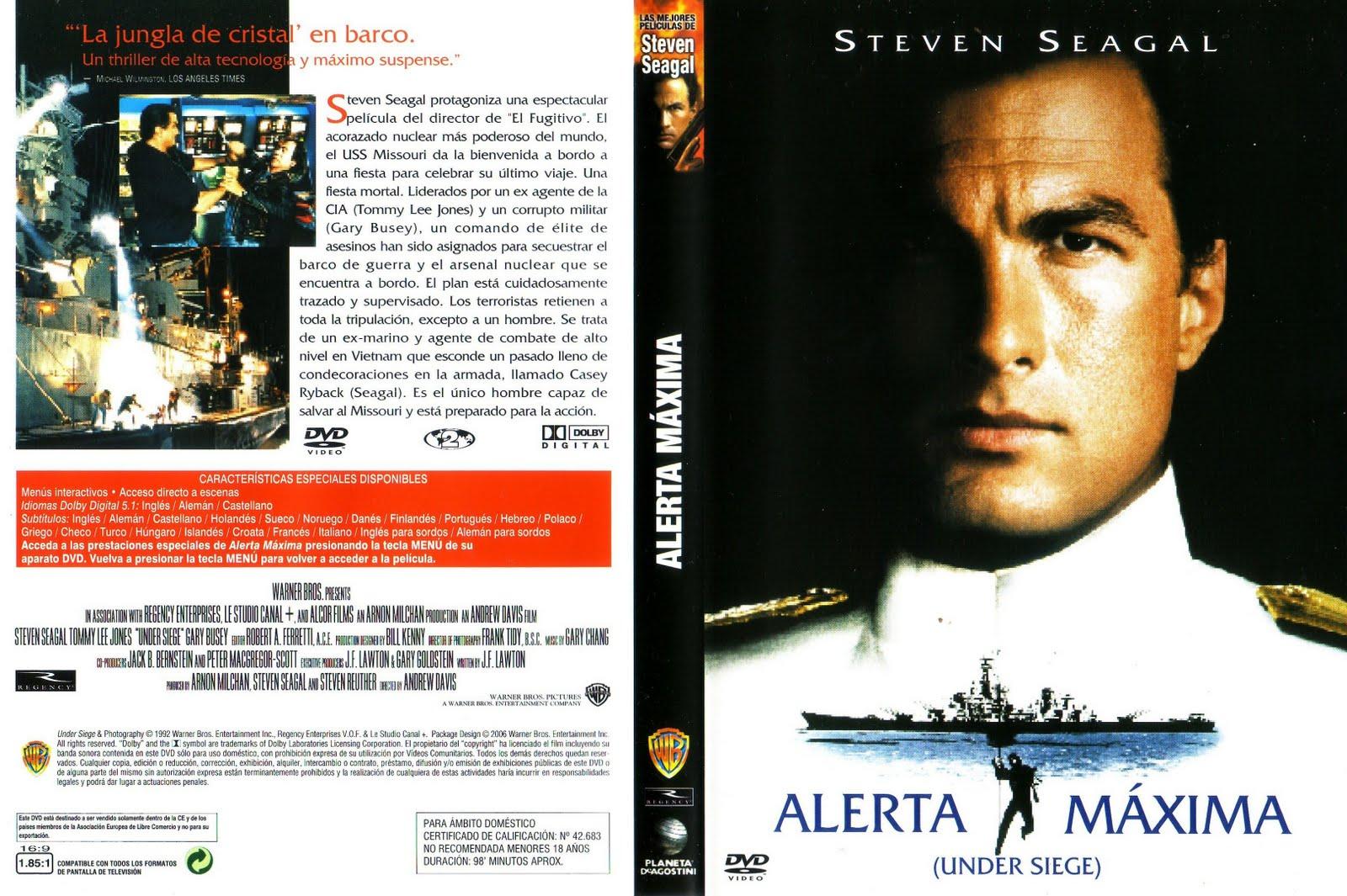 Alerta Máxima 1 (1992) [Dvdrip Latino] [Zippyshare]