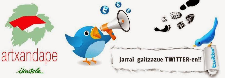 JARRAI GAITZAZUE TWITTER-en!