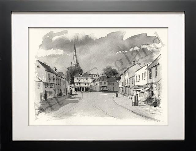 Thaxted Essex illustration