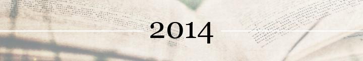http://zrecenzujemy.blogspot.com/p/przeczytane-2014.html