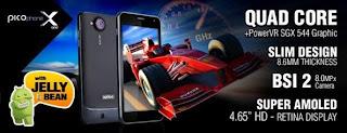 Spesifikasi dan Harga Picophone X One Terbaru Juli 2013